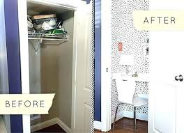 turn closet home office. Home Office Closet Ideas Storage Organization Solutions Tiny Space Turn A Into Charming