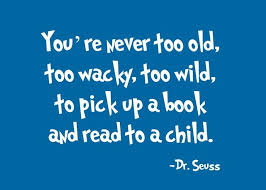 Image result for dr seuss read with children quote