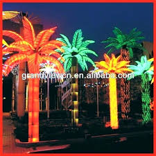 artificial palm trees for outside light up palm tree outdoor special decoration led coconut artificial trees artificial palm trees