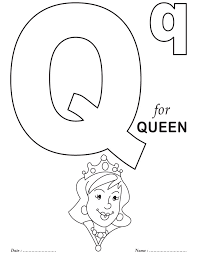 Small Picture Geography Blog Letter Q Coloring Pages