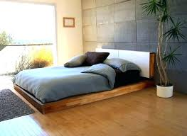 Low To The Floor Bed Frame | citizenhunter.com