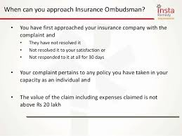 Know About Insurance Ombudsman