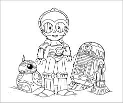 Make a coloring book with robot movie for one click. Star Wars Coloring Pages Robot Coloringbay