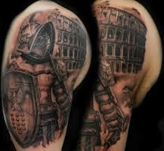50 Gladiator Tattoo Ideas For Men The Ink Spot