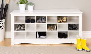 Furniture for shoes Tall Types Of Shoe Storage Solutions Overstock Types Of Shoe Storage Solutions For Your Home Overstockcom