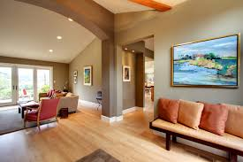 Contemporary transitional-living-room