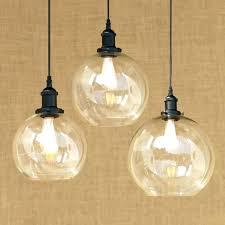 edison bulb hanging light pendant fixture modern spherical glass shade lamp led spheri