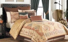 rustic cabin bedding canada lodge