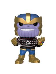 <b>Фигурка Funko POP</b>! Bobble: Marvel: Holiday: Thanos 43336 Funko ...