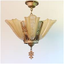 a1020 art deco slip shade chandelier bogart bremmer bradley modern art deco chandelier antique lighting chandeliers