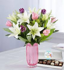 Image result for tulips and lilies