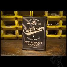 cafe racer tv season 4 complete dvd