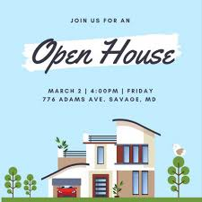 business open house flyer template sample open house flyer sinma carpentersdaughter co