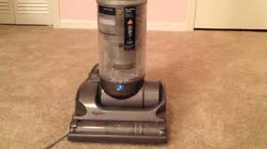 dyson suddenly hard to push on carpet