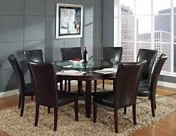 modern stunning round dining table for 8 people including superb modern small glass s and