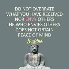 Envy Quotes Simple Buddha Quote About Peace Jealous Envy CQ
