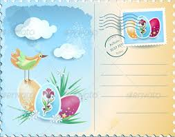 Easter Greeting Card Template Extraordinary Easter Postcard Template 48 Free PSD EPS Format Download Free