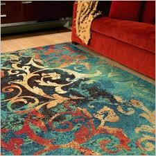 turquoise and orange rug red and turquoise area rugs 5 gallery the incredible and gorgeous red turquoise and orange rug