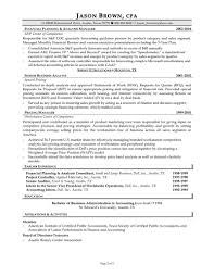 40 Professional Cpa Resume Samples To Inspire You Vinodomia