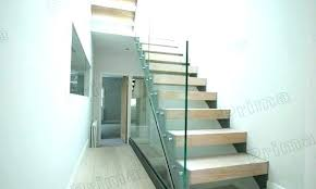 glass stair railing cost post philippines balcony attractive within deck
