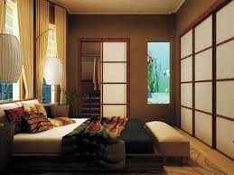 Oriental Bedroom Furniture Bedroom Casual Japanese Bedroom Furniture With Wooden Door And