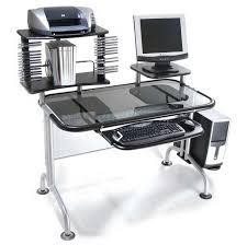 um size of desk computer computer desks desk with shelves white corner return printer shelf