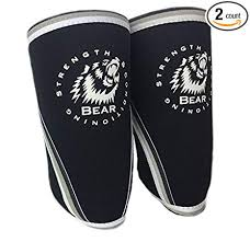 Amazon Bear Elbow Sleeve 40mm High Strength Neoprene For Awesome Bear In Hing Reng