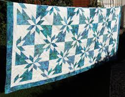 Hunters Star Batik Patchwork Quilt by PingWynny Made to Order | by ... & Hunters Star Batik Patchwork Quilt by PingWynny Made to Order Adamdwight.com