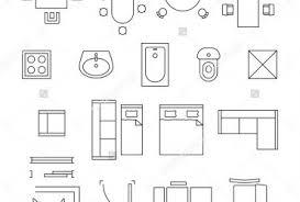 floor plan symbols bathroom. Beautiful Bathroom Floor Plan Bathroom Symbols Interior Design On