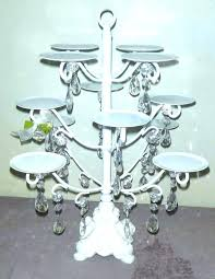 black metal cake chandelier cupcake holder crystal stand black metal cake black round metal scroll cake