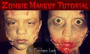 zombie makeup tutorial diy this post is brought to you by farm rich house bbq housebbq as always all opinions are my own