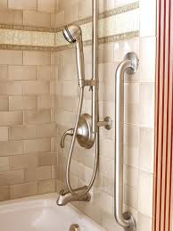 make taking a bath and maintaining the tub more convenient by installing a handheld sprayer