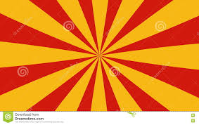 Radial Red Retro Radial Red And Yellow Pattern Stock Footage Video Of