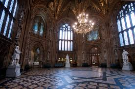 Palace Of Westminster - Houses of parliament interior