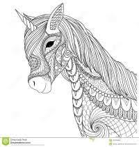 Disegni Da Colorare Degli Unicorni Con Arcobaleno