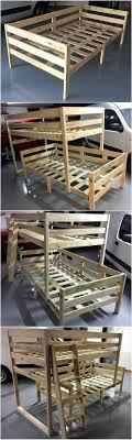 Best 25 Pallet Bunk Beds Ideas On Pinterest Small Bunk Beds