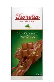FIORELLA Fıstıklı Tablet Çikolata 80 gr 10'lu 1 Kutu Fiyatı, Yorumları -  TRENDYOL