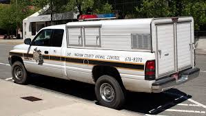 Image of: Humane 2000 Dodge Ram 1500 Animal Control Unit Rear National Police Car Archives Ingham County
