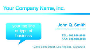 Business Cards Template For Word Tailoredswiftco