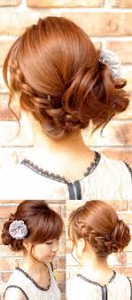 結婚式にお呼ばれした時の髪型ヘアアレンジ集ロングミディアム