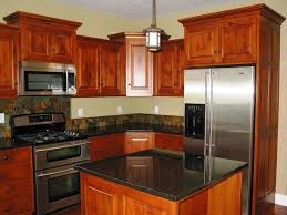Wooden Furniture For Kitchen Fascinating Wood Kitchen Design With Storage Furniture And Table