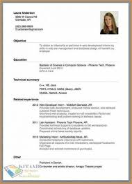 How To Do A Resume For A Job Application