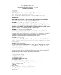 Football Coach Resume