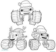 Blaze Coloring Pages Printable Coloring Page For Kids