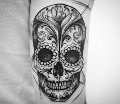 Sugar Skull Tattoo By Ricardo Da Maiat Photo 24763