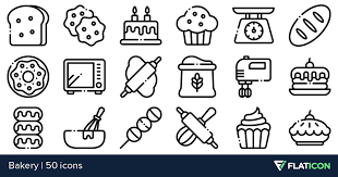 Bakery 50 Free Icons Svg Eps Psd Png Files