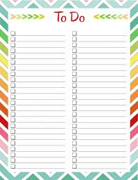 Free Printable To Do List Templates | Calendar 2018