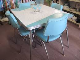 Retro Formica Kitchen Table Retro Kitchen Chairs Great Details About Vintage Kitchen