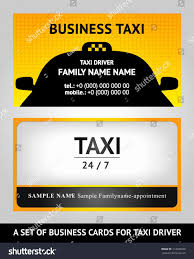 Uber Driver Resume Best Of Awesome Taxi Driver Business Card