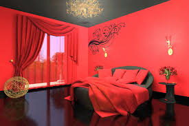 ... Romantic Red And Black Bedrooms For Modern Wonderful Bedroom Painting  Ideas ...